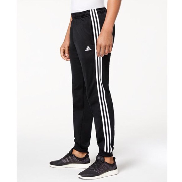 Men's Adidas 3 stripe tricot jogger pant NWT
